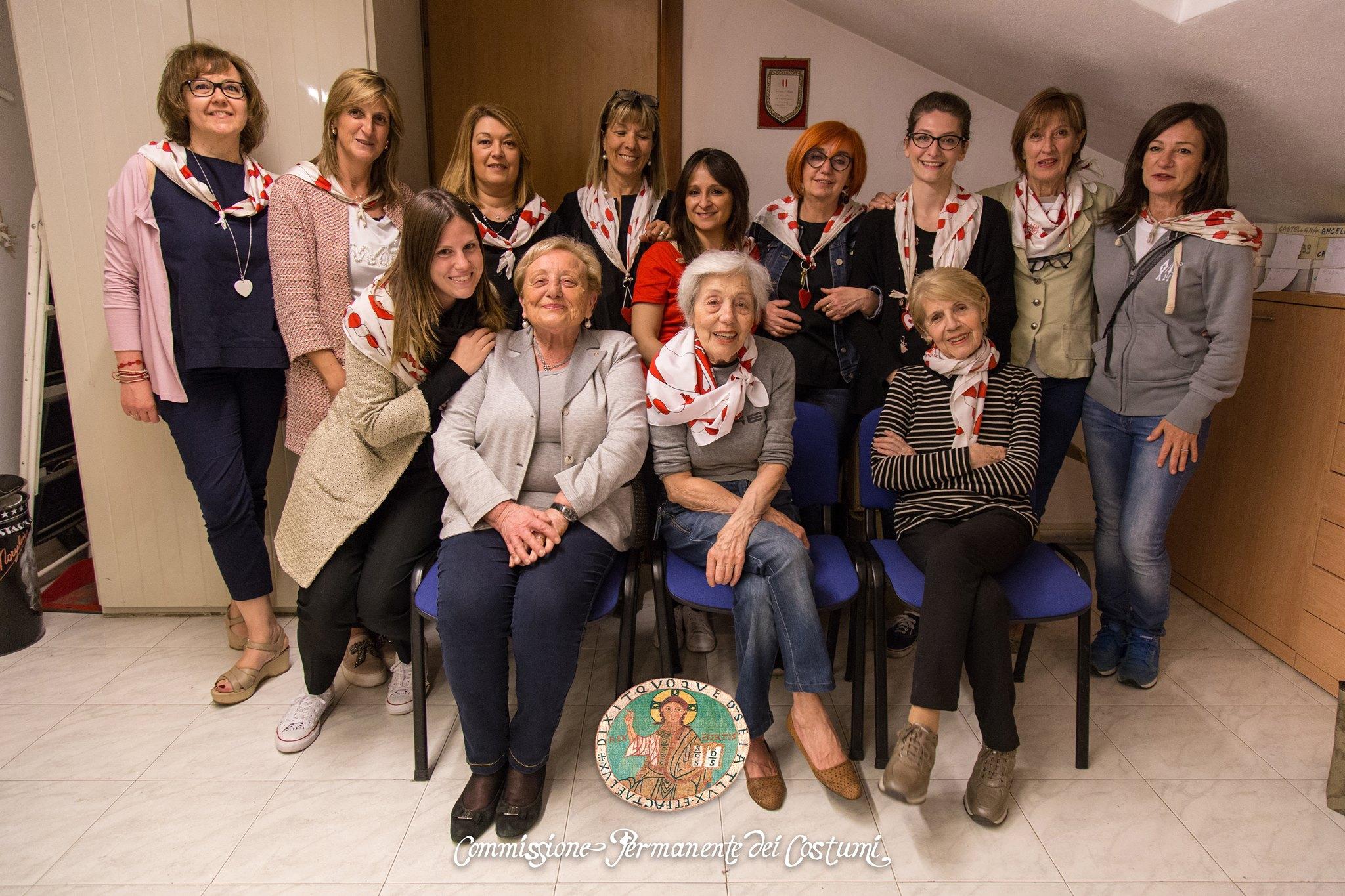 36283df44a4e In particolare le due Gran Dame Donna Elda Visconti Novara e la Signora  Adele Albertalli