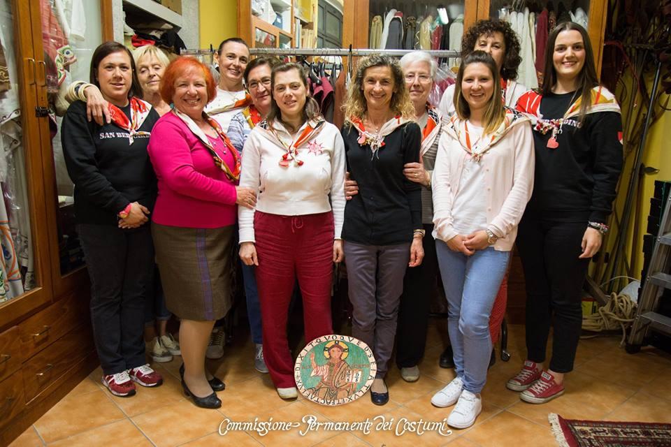 """307f36965f70 Commissione Costumi Contrada Sant Ambrogio. """""""