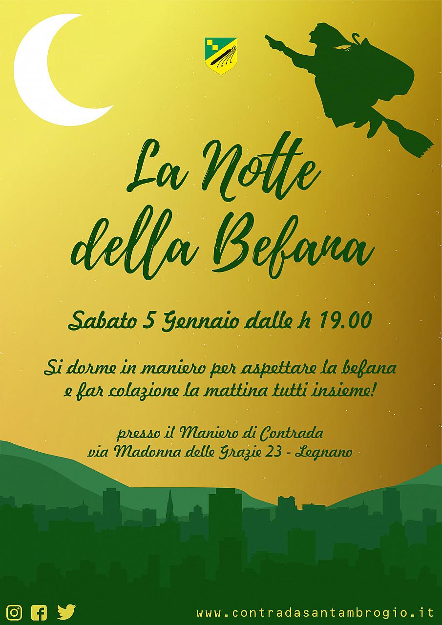 La Notte Della Befana Palio Di Legnano